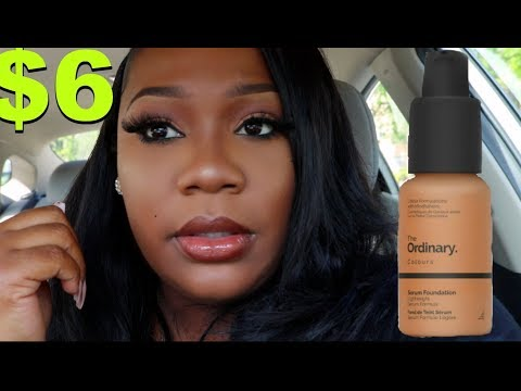 WOW $6 FOUNDATION IS IT REALLY THAT GOOD? Ordinary Foundation