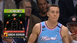 Duncan Robinson 1st Round | 2020 NBA 3-Point Contest