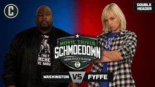 Innergeekdom Match! Fyffe VS Washington + Fyffe VS The Machine - Movie Trivia Schmoedown