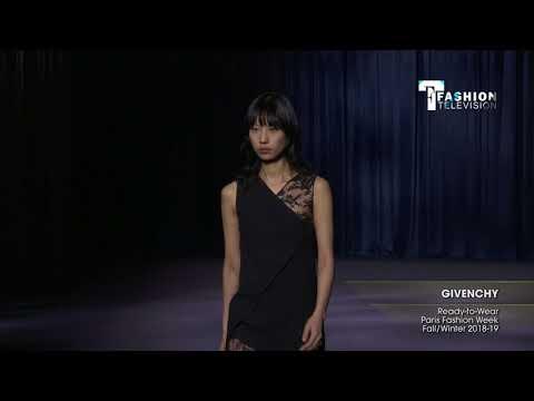 GIVENCHY Paris Fashion Week Fall/Winter 2018-19