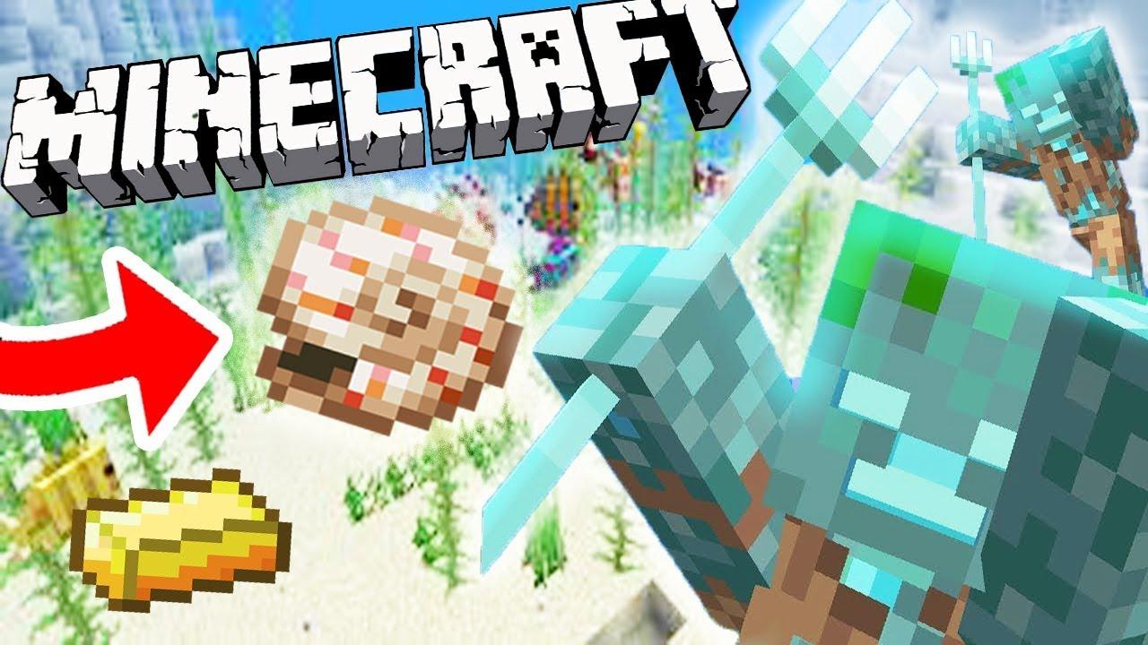 Minecraft Survie : La plus Grande Farm à Trident du Monde en 10.104 ! - Ep 105  Fr