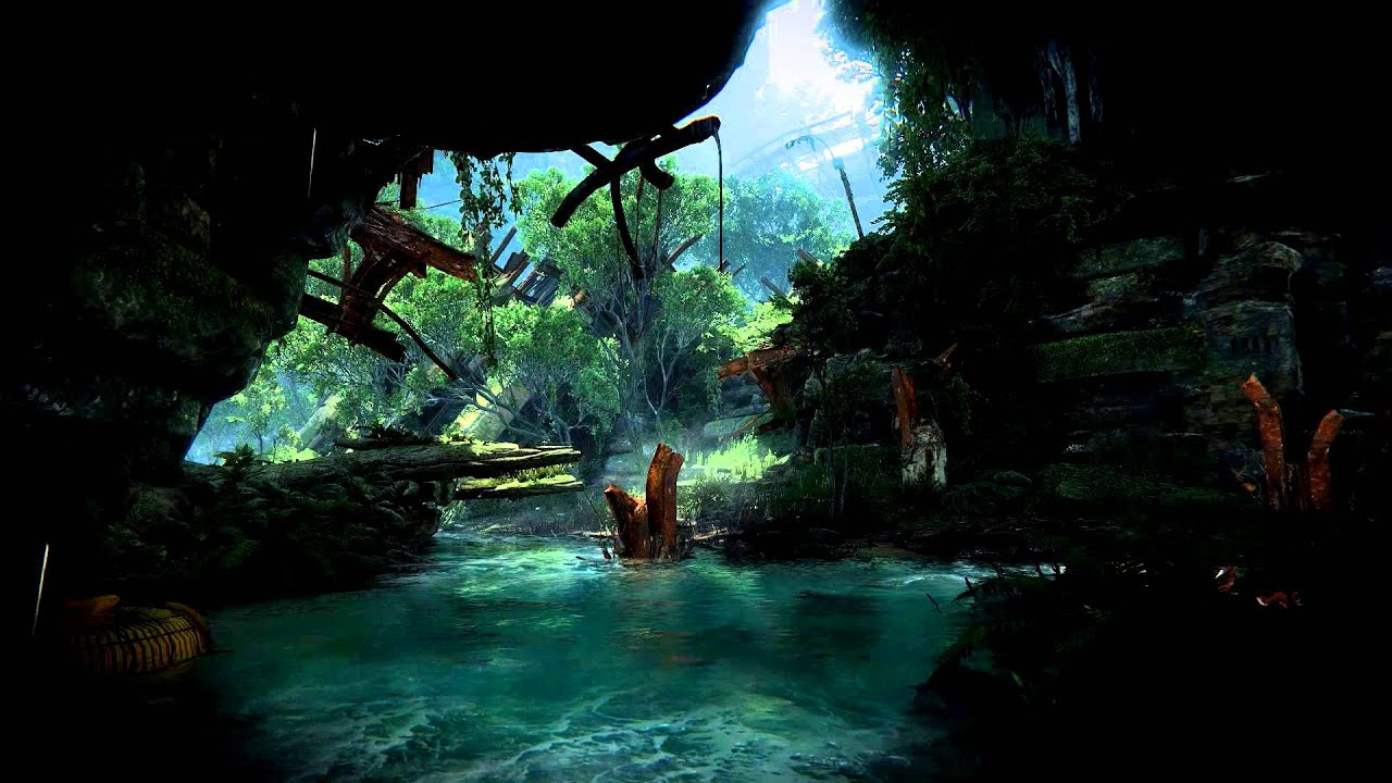 Crysis 3 Running Water Video Desktop Wallpaper Youtube
