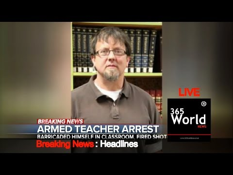 Teacher Locks Himself In Classroom With Gun Authorities