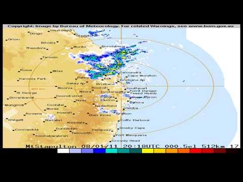 512 Kilometre Brisbane Radar to 21:15