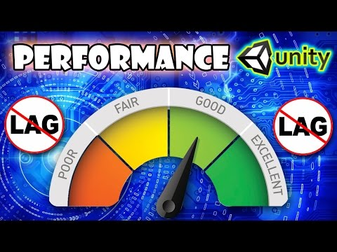 How to Optimise and Increase Game Performance in Unity3D? - (Complete Course)