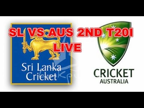 SriLanka vs Australia Second T20I 2017 Live Streaming- Scorecard
