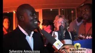 AfrICA PARADIS Drector Sylvestre Amoussou with BTVE