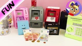 Velké srovnání pokladniček - která je nejlepší? Facebank a bankomaty