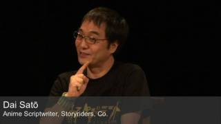 Full Video - http://www.japansociety.org/content.cfm/webcast_detail?eid=518fffbb Dai Sato, one of Japan's leading anime scriptwriters, gives insight into his ...