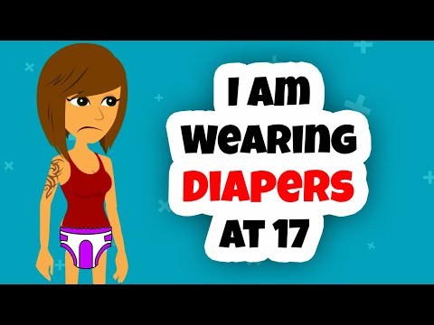 Wearing Diapers At 17 Animation - Animated Story - Actually Happened My Parents