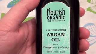 Nourish Organic Argan Oil -- 3.4 fl oz cruelty free