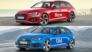 2020 Audi RS4 Avant vs Old Audi RS4 Avant