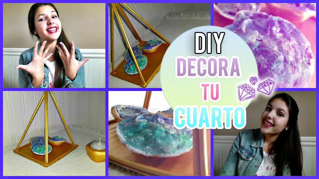 Diy decora tu cuarto estilo tumblr urban ou youtube for Cuarto estilo tumblr
