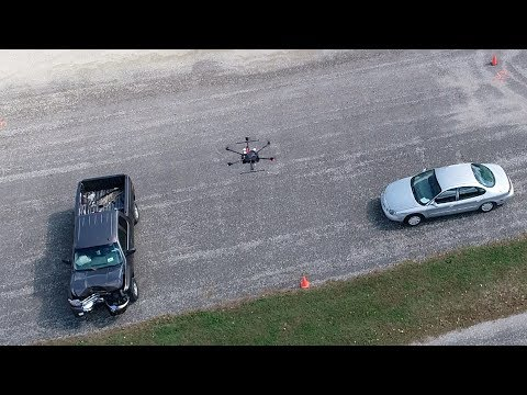 Drones used to improve traffic crash site assessments