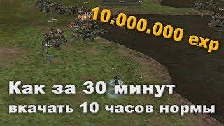 10 миллионов опыта за 30 минут на 50 - Lineage 2 Classic