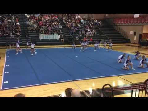 Trion Middle School Cheer 2016