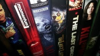 DVD Update (Mostly Horror) & Shoutout to Aaron Pynn