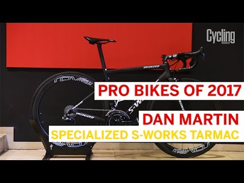 Dan Martin's Specialized S-Works Tarmac   Pro Bikes of 2017   Cycling Weekly