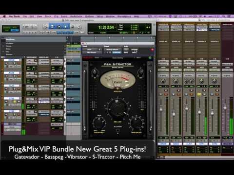 Plug&Mix VIP Bundle New 5 Great Plug-ins!