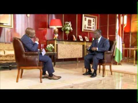 Interview du Président Alassane OUATTARA sur RFI avec Alain FOKA: Partie 1