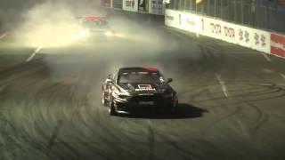 Watch Full Top 16 Highlights From the 2016 Motegi Super Drift Challenge thumbnail