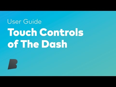 Touch Controls of The Dash