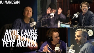Judd Apatow, Pete Holmes, Artie Lange - Crashing on HBO, Weed, Drugs, Prison, Hecklers + more