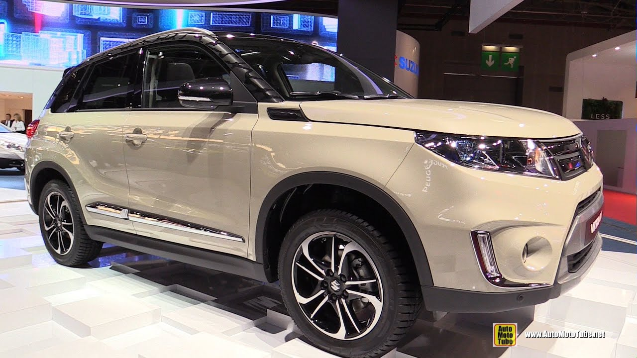 2015 suzuki vitara allgrip exterior walkaround 2014 paris auto show youtube. Black Bedroom Furniture Sets. Home Design Ideas