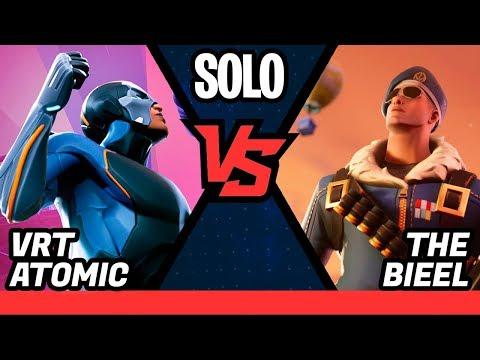 THE BIEEL vs VRTATOMIC - TORNEIO FORTNITE SOLO PS4 - ELIMINATÓRIAS