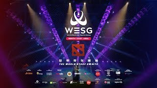 [DOTA2 Legend] Top Global: Philipines VS Malaysia (BO3) - WESG S.E.A Finals Official Broadcast