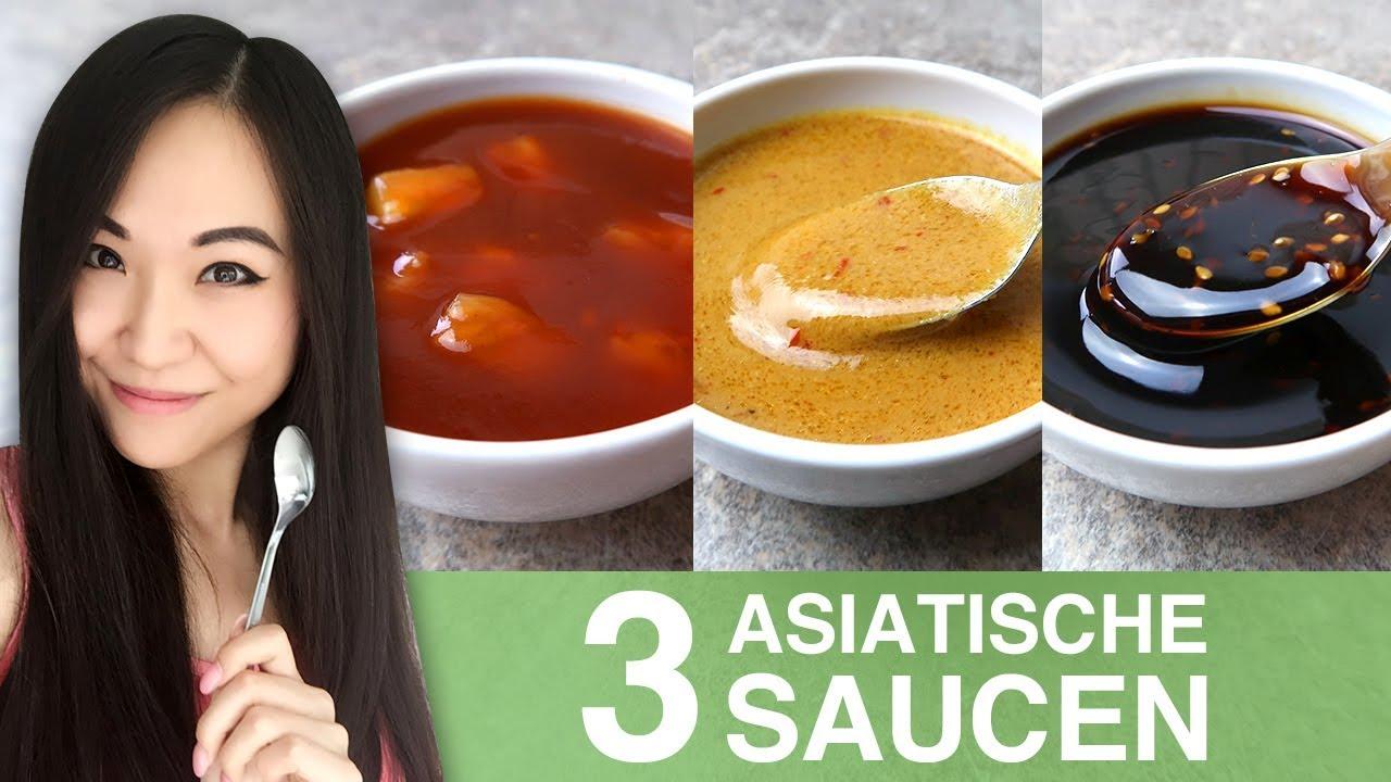 Rezept Süß Sauer Sauce Erdnusssoße Teriyaki Sauce Asiatische
