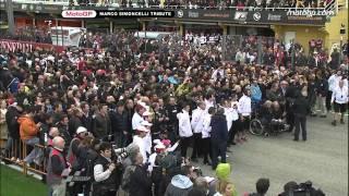 Valencia pay tribute to Marco Simoncelli