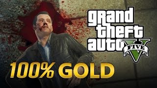 "GTA 5 - Final ""B"" Chegou a Hora - Matar o Michael - Walkthrough (GTA 5 100% Gold Medal)"