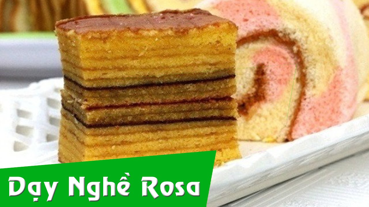 Indonesian Layer Cake Poh