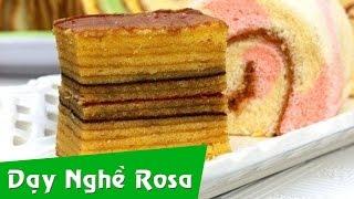 Bánh Indonesian Layer Cake