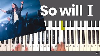 So Will I Hillsong Piano Tutorial and Chords