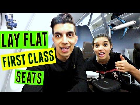 Lay Flat First Class Seats Hawaiian Airlines -  Honolulu, Oahu Hawaii VLOG Last Day