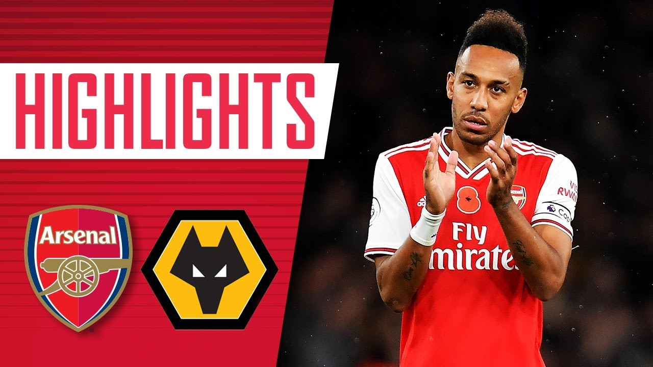 Arsenal 1-1 Wolverhampton Wanderers | Premier League highlights | Nov 2, 2019