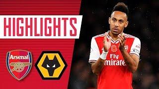 Arsenal 1-1 Wolverhampton Wanderers | Premier League highlights | Nov 2, 2019