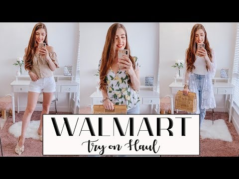 HUGE WALMART TRY ON HAUL *stylish spring outfits!* 9
