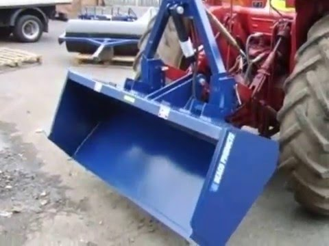 Beaconsfield 4ft Hydraulic Transport Box