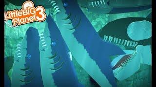 LittleBIGPlanet 3 - So Many Flippin SHARKS!!!! [Playstation 4]