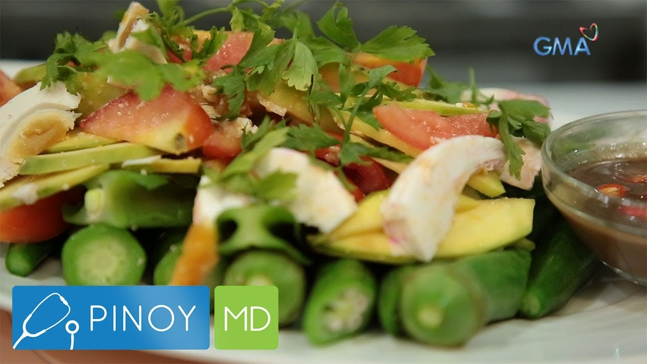 Pinoy Md Pinoy Vegetable Salad Recipes Alamin Youtube