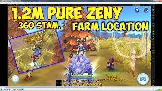 Harpy Farming 1.2m Pure Zeny per 360 stamina | Ragnarok Mobile Eternal Love