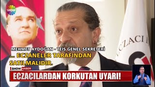 2021-03-18 - TEİS - ShowTV - Sahte Dezenfektan Haberi - Ecz Mehmet Aydoğan