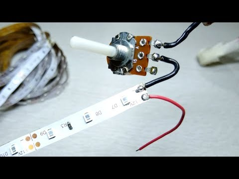 3 Super Simple Small Electronic Project | Led Strip Brightness Controller |