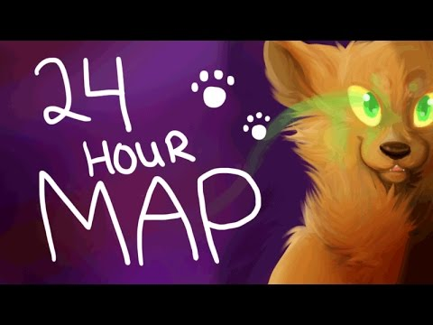 **COMPLETED** WARRIOR CATS 24 hour MAP...