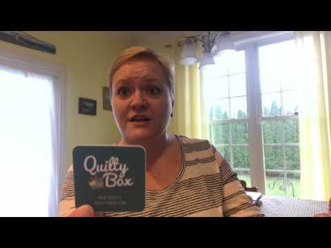 April 2017 Quilty Box