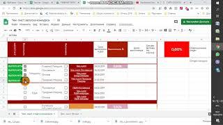 Налаштування гугл таблиць для проекту. Міні CRM на основі google sheet.
