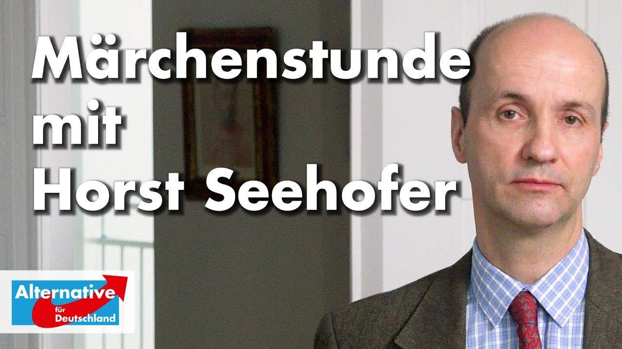 Nicolaus Fest zur Märchenstunde mit Horst Seehofer